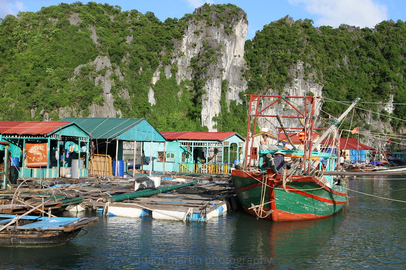 Floating Village, Bai Tu Long, Vietnam