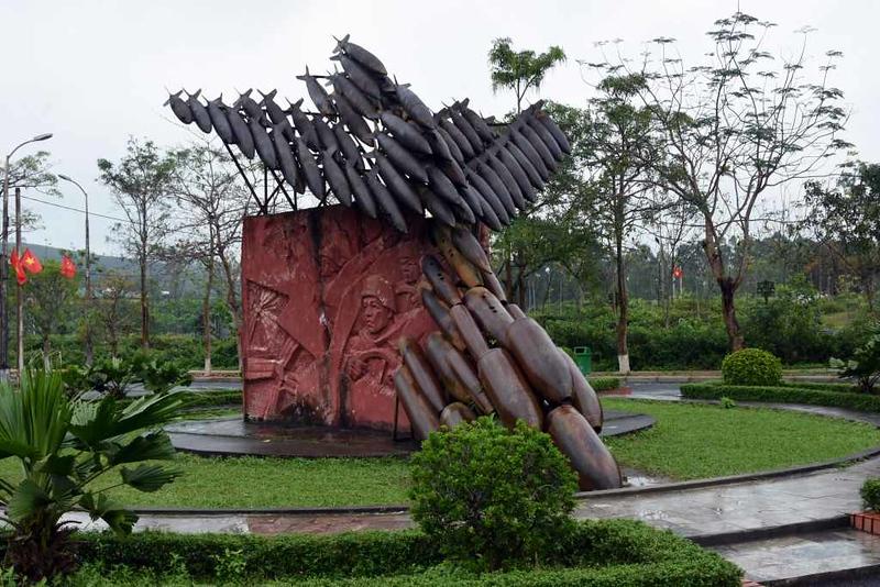 Bombing memorial, Dong Loc road junction, 8 March 2018 2.