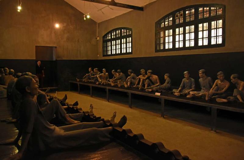 Cell E, 'Hanoi Hilton' prison museum, Hanoi, 7 March 2018 2.