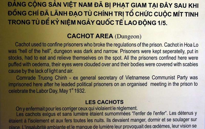Punishment cell, 'Hanoi Hilton' prison museum, Hanoi, 7 March 2018 1.