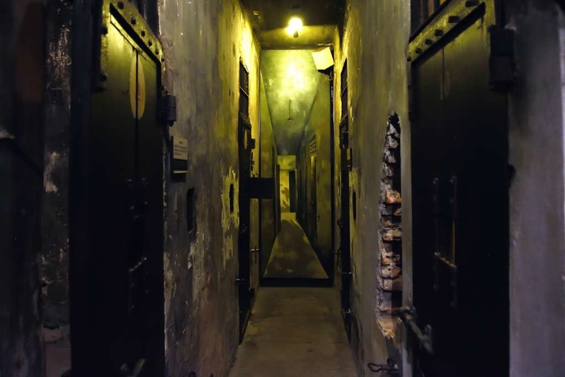 Death row cells, 'Hanoi Hilton' prison museum, Hanoi, 7 March 2018 2.