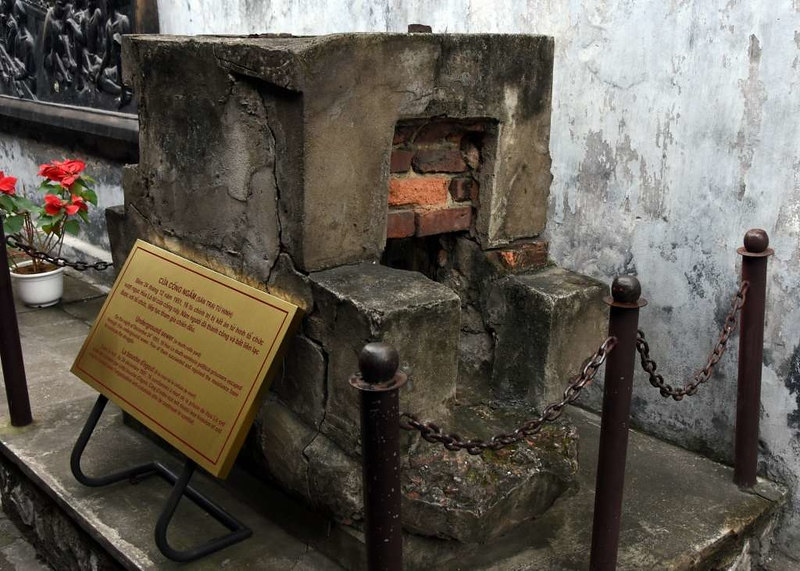 Sewer, 'Hanoi Hilton' prison museum, Hanoi, 7 March 2018 2.