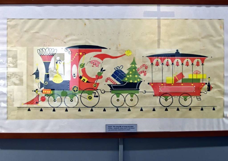 American prisoners, 'Hanoi Hilton' prison museum, 7 March 2018 5.  Thinking of Christmas...