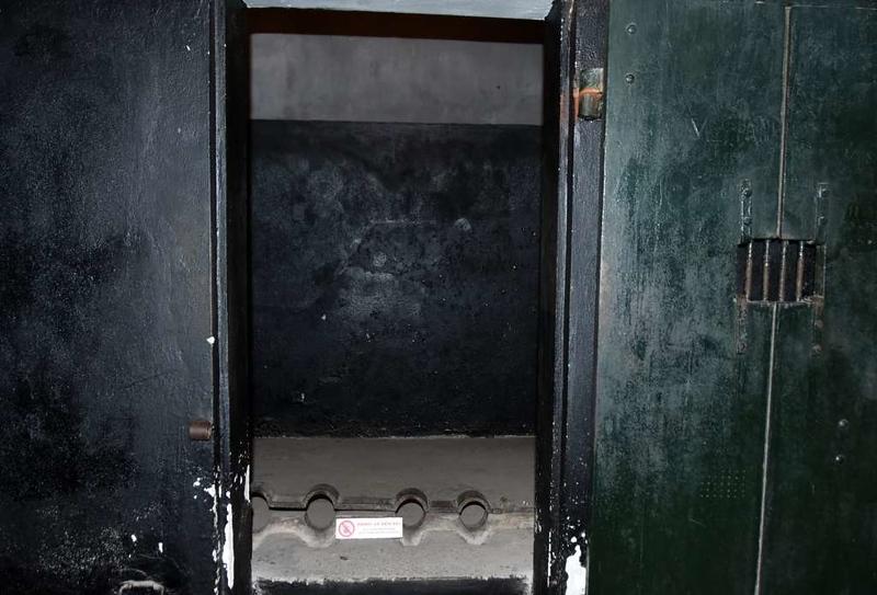 Punishment cell, 'Hanoi Hilton' prison museum, Hanoi, 7 March 2018 2.