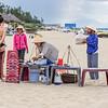 Feeding the Beach Goers