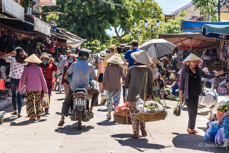Busy Streets of Hoi An