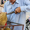 Cutting the Durian
