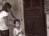 Mother/Daughter, Hairdo, Hoi An, Vietnam
