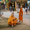 hey, even Buddhist monks need to catch a smoke and update their Facebook page from time to time