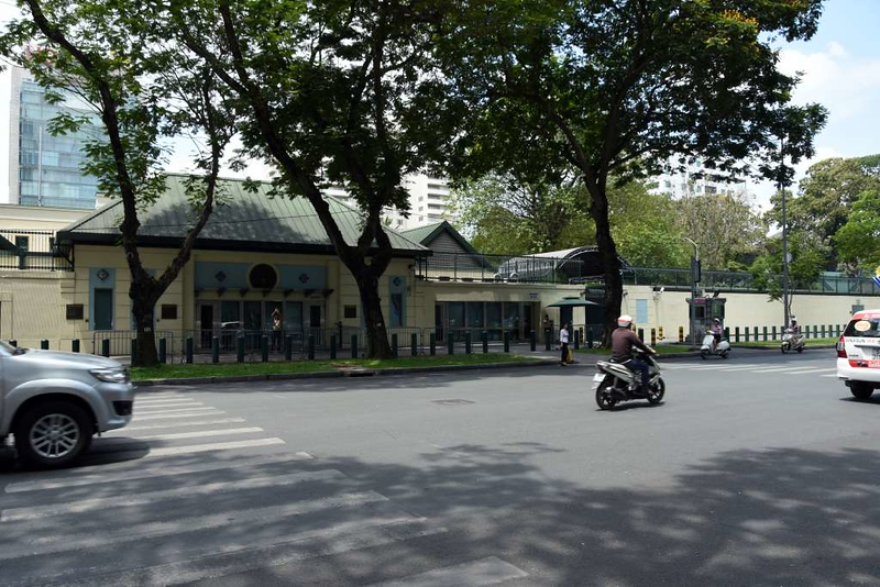 US Consulate, Le Duan Avenue, Ho Chi Minh City, 15 March 2018.  This is on the site of the embassy attacked by the Viet Cong during the 1968 Tet Offensive, and from which the last Americans were evacuated by helicopter when Saigon fell in 1975.