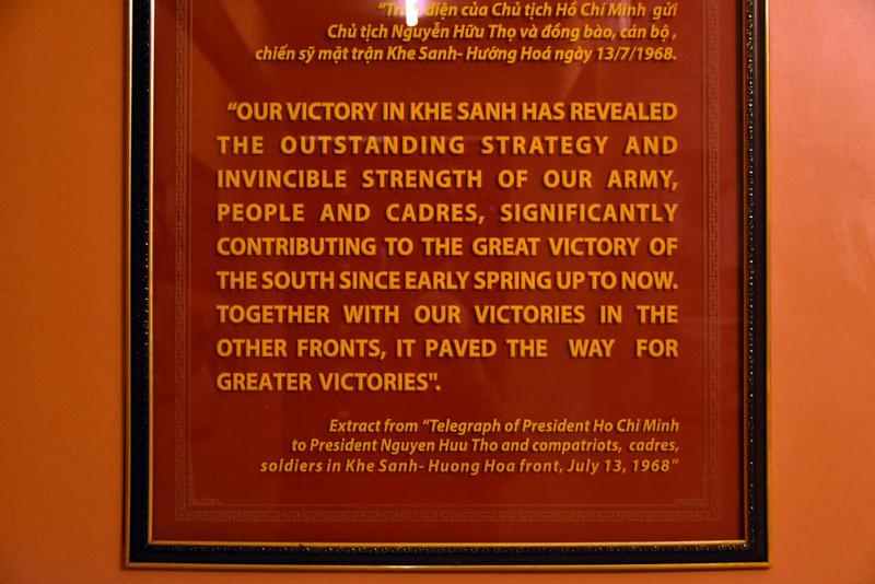 1968 battle, Khe Sanh combat base museum, 9 March 2018 5.
