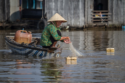 Balance and Poise, Chau Doc, Mekong Delta, Vietnam