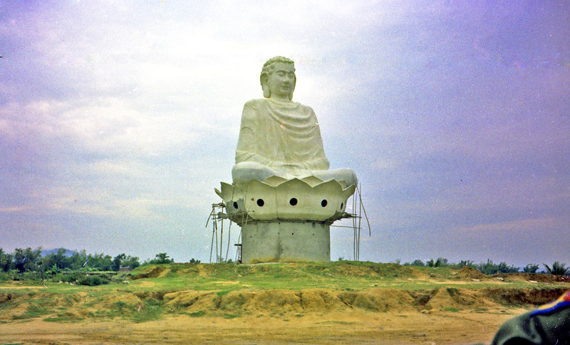 This large Buddha dominated the area west of the Da Nang airport.  It seemed incongruous to me to undertake such a building project during a war, but I guess life had to go on for those who weren't fighting.