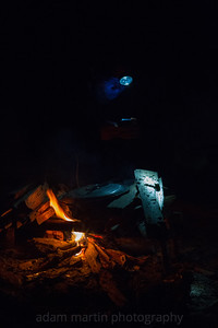 Blue & Orange, Cave Cooking, Phong Nha, Central Vietnam