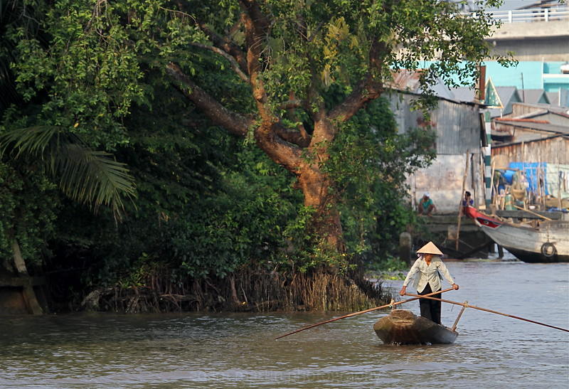 Travel Indochina, Can Tho, Cai Be Floating Market, Vietnam Travel Indochina, Ben Tre, Mekong Delta, Vietnam