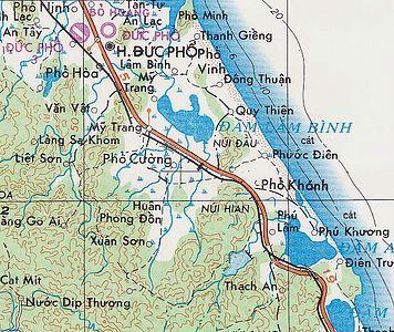 Duc Pho Vietnam Map   autobedrijfmaatje Kason Map Of Vietnam on