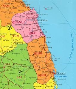Quang Ngai Vietnam Map.Vietnam Maps Lucy421