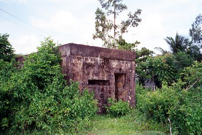 Lai Khe base camp bunker