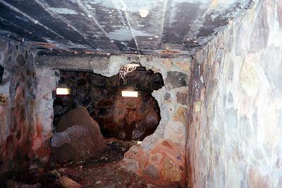 Inside Lai Khe bunker