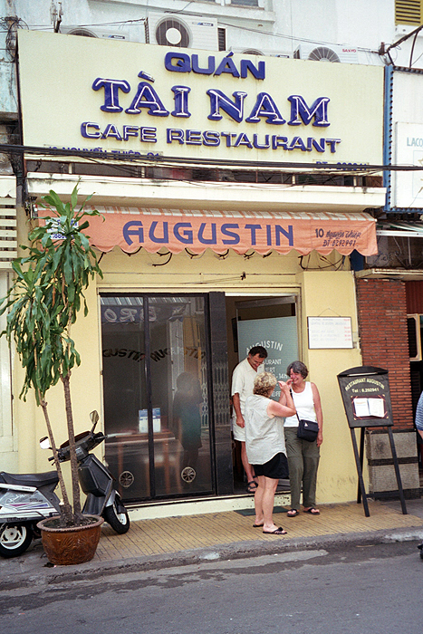 Augustin Restaurant off Dong Khoi Street - excellent French food!