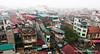 View of Hanoi, Vietnam from our hotel window in January 2012