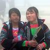 Best friends in Sapa, Vietnam in January 2012