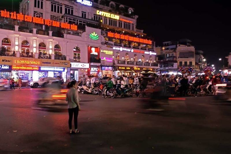 Pedestrian, Hanoi, 6 March 2018.