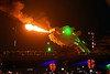 Dragon bridge, Da Nang, 11 March 2018 2.  With real fire-breathing dragon!