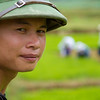 The local guide - Mr Chau. North Vietnam
