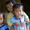 Same three kids. Hang KIa Village Vietnam