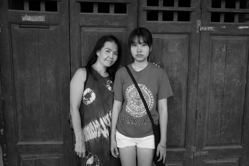 Parichat and Eileen. Hanoi, Vietnam 2018