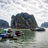 Ha Long - Boats Docked 0010
