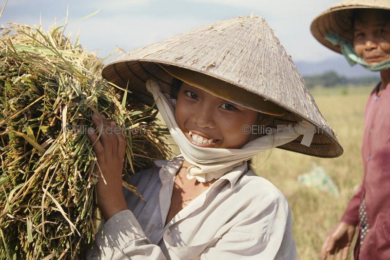 Helping Grandma – Vietnam