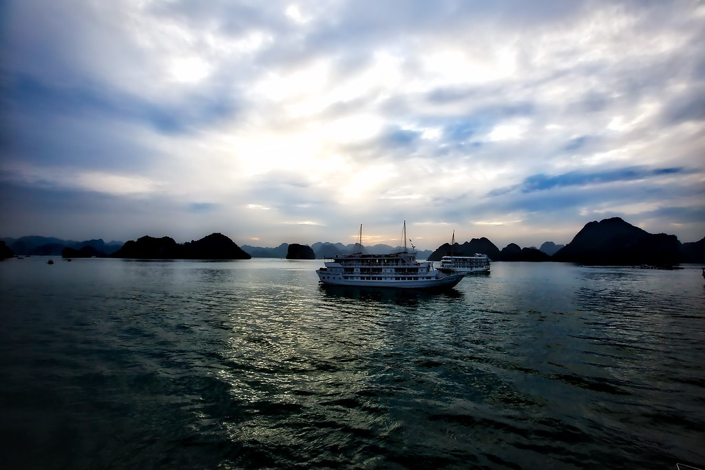 Sunset - Halong Bay - 0042