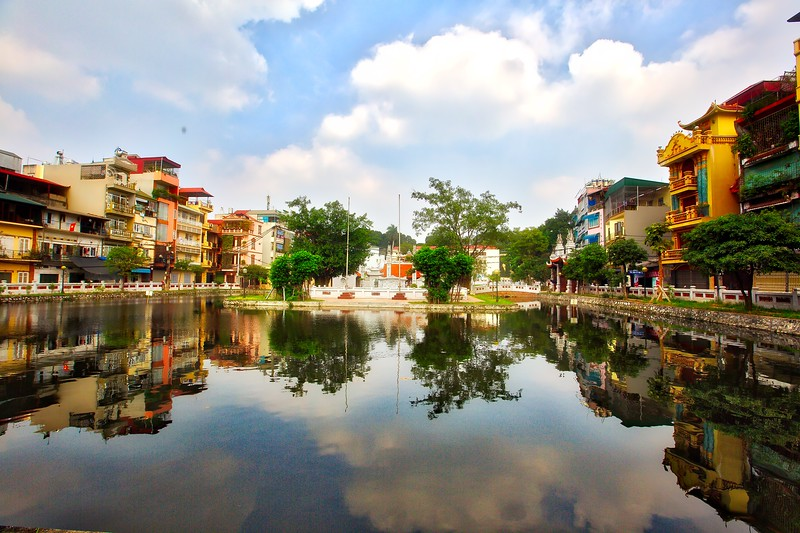 Hanoi Reflections - 005