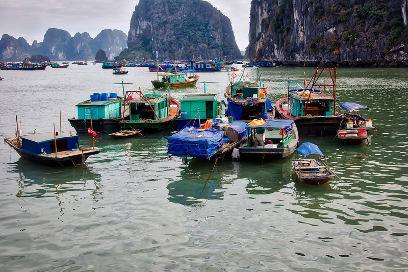 Ha Long Fishing Boats 0011