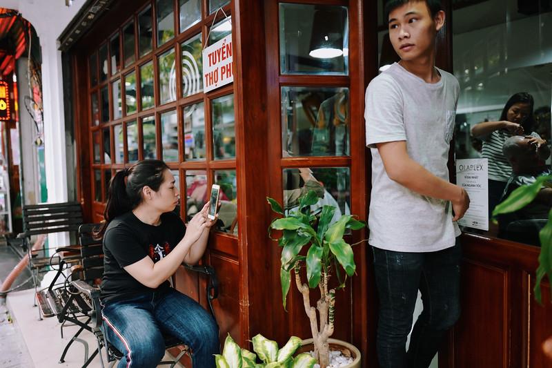 Haircutter, Lo Su Rd. Hanoi, Vietnam