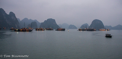 Night on Halong Bay