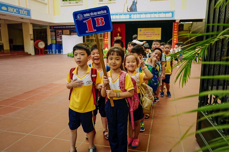 The kids of 1B. Hanoi, Vietnam
