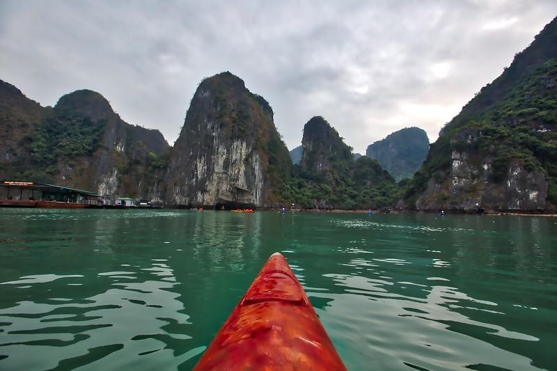 Halong Bay - Canoe