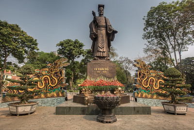 First king of Ly dynasty over 1000 years ago - Lý Thái Tổ