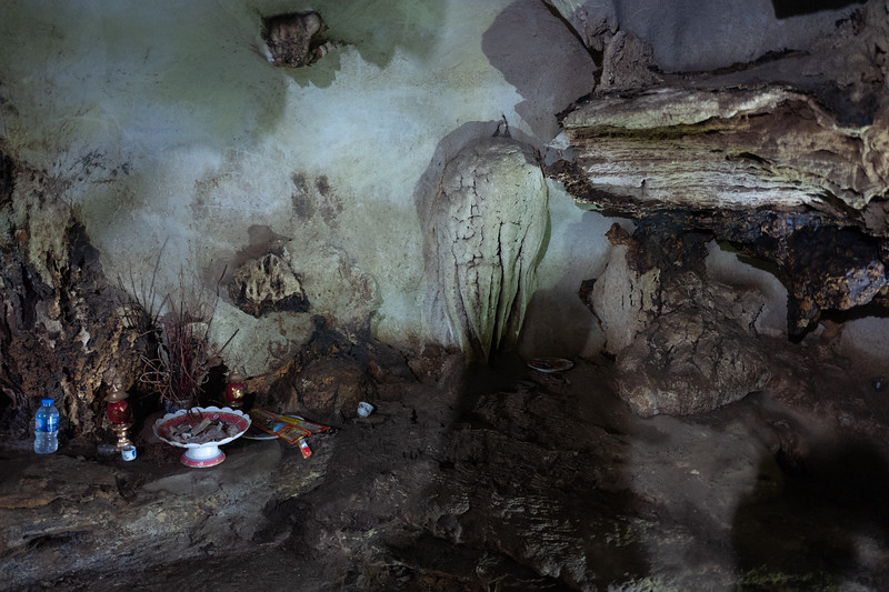 Cave Shrine. Cat Ba Island, Vietnam