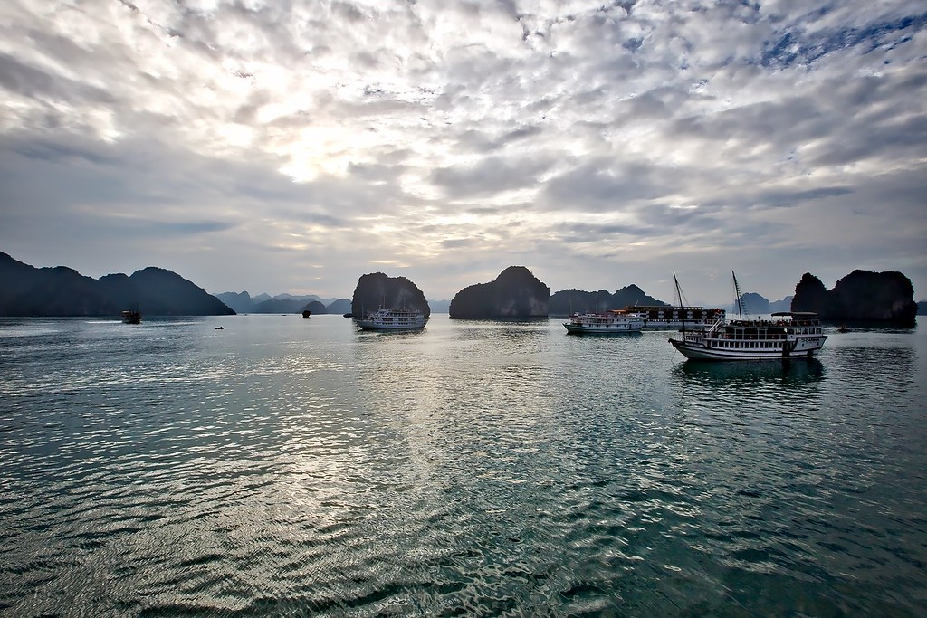 Sunset Halong Bay - 057