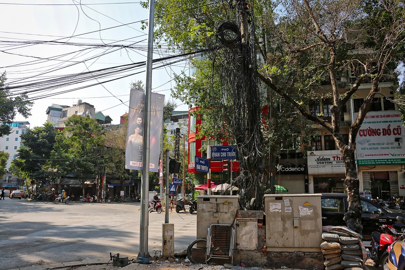 Tree of wires - Hanoi
