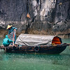 Fisherman in Halong Bay, Viet Nam