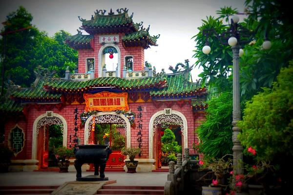 Architecture in Hoi An, Vietnam.
