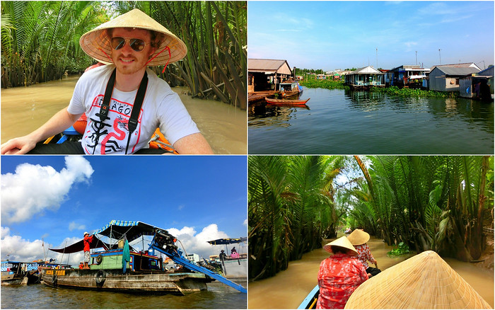 Cruising the Mekong Delta in Vietnam