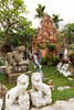 Stone sculptures near the Marble Mountains south of Da Nang, Vietnam, Asia.