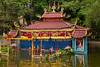 The water puppet theater at the Museum of Ethnology in Hanoi, Vietnam, Asia.
