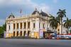 The Opera House in downtown Hanoi, Vietnam, Asia.